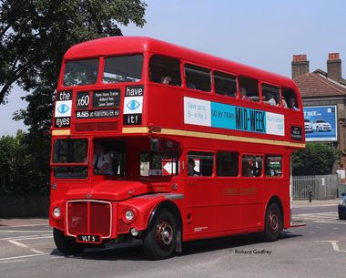 Routemaster 60 took place in July 2014