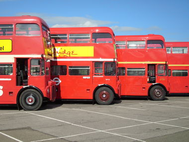 North Weald bus rally