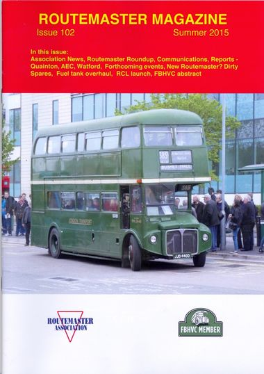 Summer Routemaster Magazine