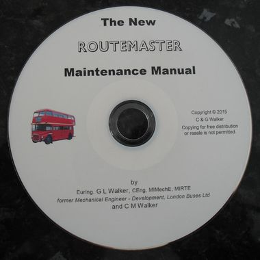 Routemaster New Maintenance Manual