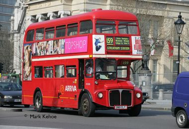 159 Routemaster Anniversary Road Run on Saturday
