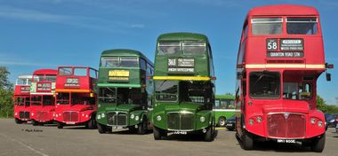 Routemaster Gathering on Bank Holiday Monday