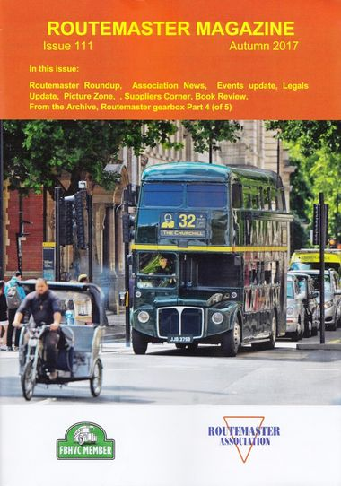 Autumn Routemaster Magazine