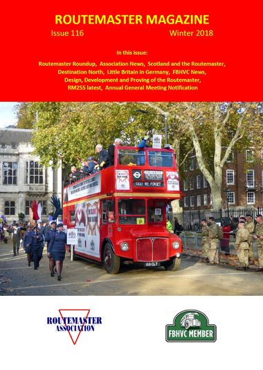 Winter Routemaster Magazine